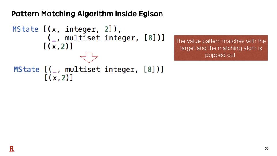Egison Blog - APLAS 2018 Presentation: Non-linear Pattern