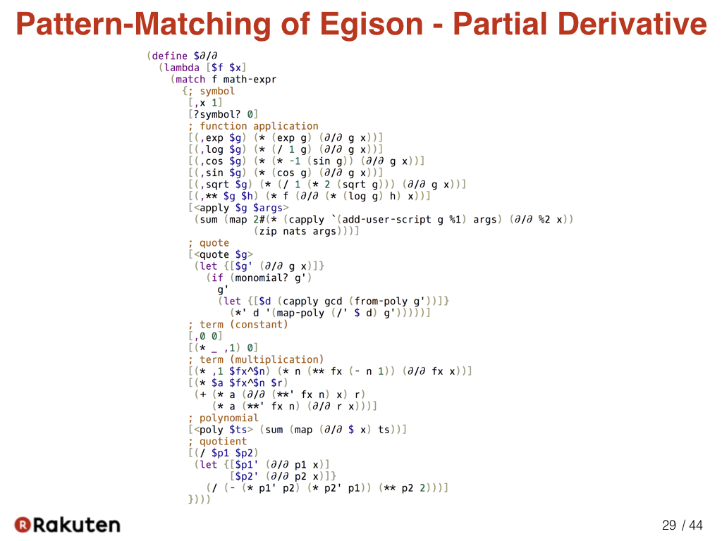 Egison blog scalar and tensor parameters for importing tensor here is a program that defines the symbolic partial derivatives in egison pattern matching against mathematical expressions is utilized to define that buycottarizona Images